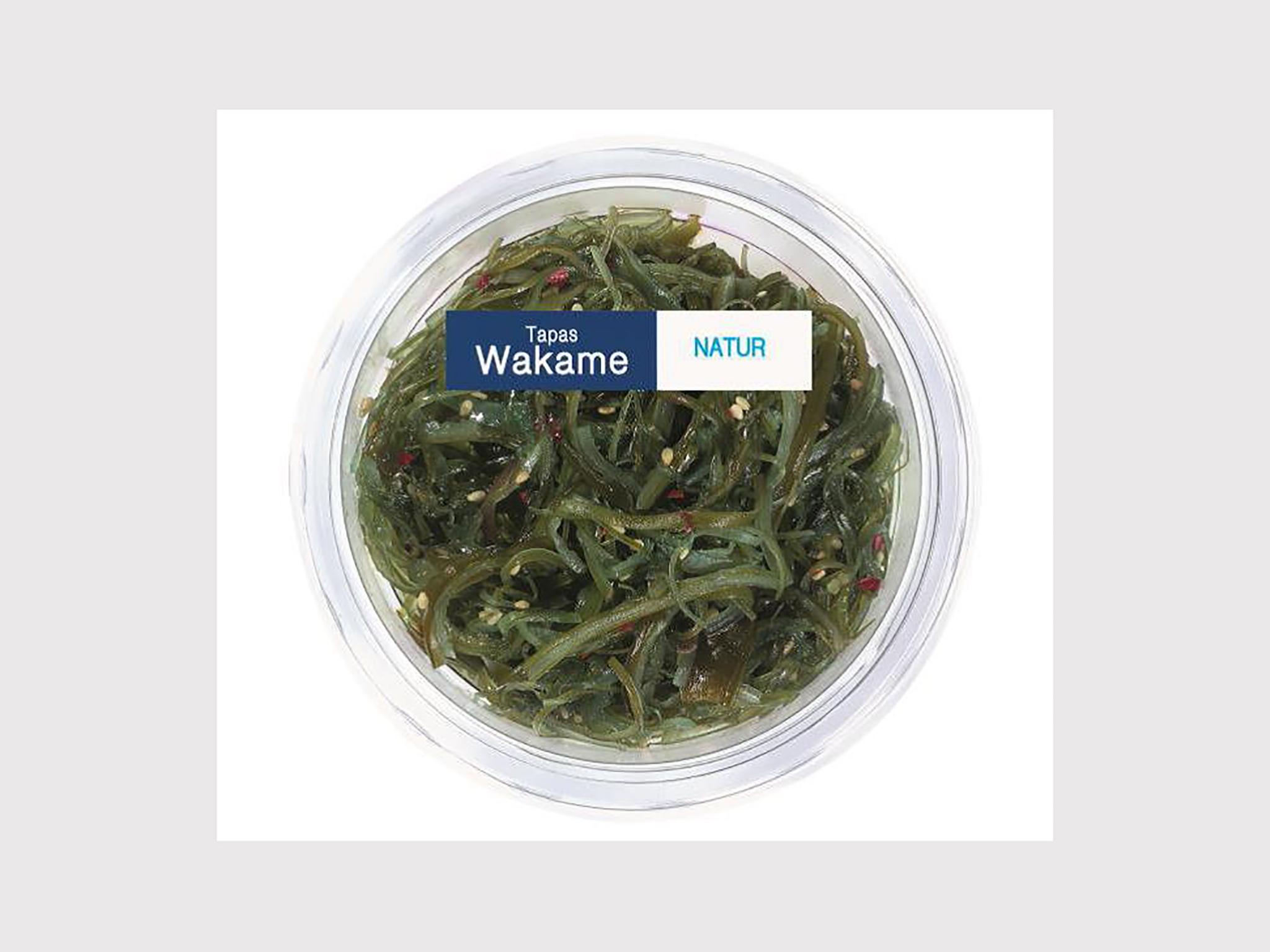 """Das betroffene Produkt """"Wakame Salat – Meeresalgen Natur, 100g"""" des Herstellers Heiploeg International B.V. wurde bei Lidl Deutschland verkauft."""
