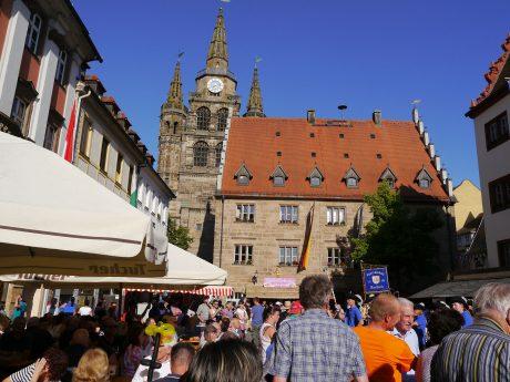 Das Altstadtfest in Ansbach. Foto: Alexandra Lyttwin