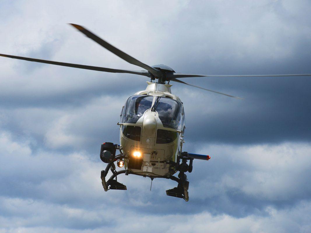 """""""Edelweiß"""" ist einer von 8 Helikoptern der Polizeihubschrauberstaffel der Bayerischen Bereitschaftspolizei. Foto: Polizei Bayern"""