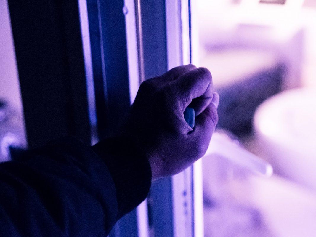 Einbrecher am Werk. Foto: Pascal Höfig