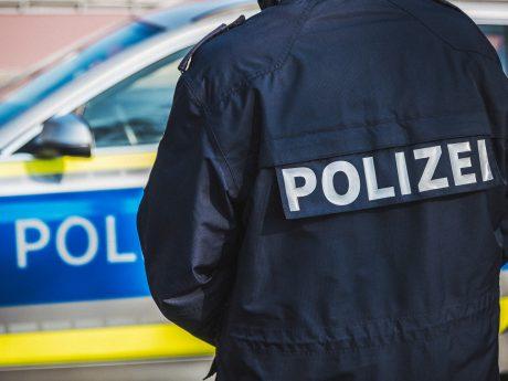 Polizei im Einsatz. Foto: Pascal Höfig