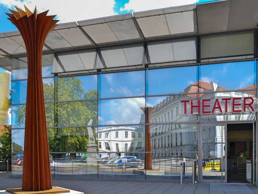 Kunstwerk der Skulpturenmeile 2017. Foto: Axel Zwiener, Stadt Ansbach.