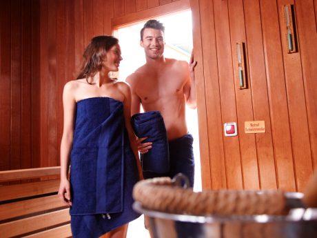 Die Saunazeit beginnt! Foto: Rasmus Schübel