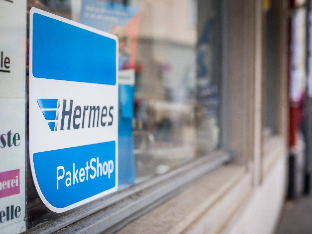 Hermes PaketShop. Symbolfoto: Pascal Höfig