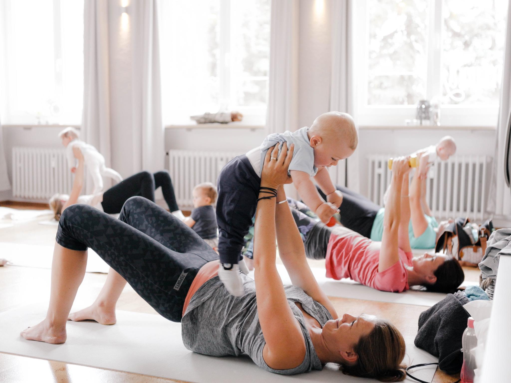 Kurse für glückliche Mamas und Kindern. Foto: Tanja Dietz