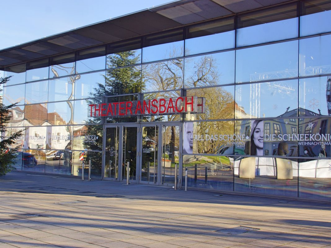 Das Theater in Ansbach. Foto: Barbara Duna