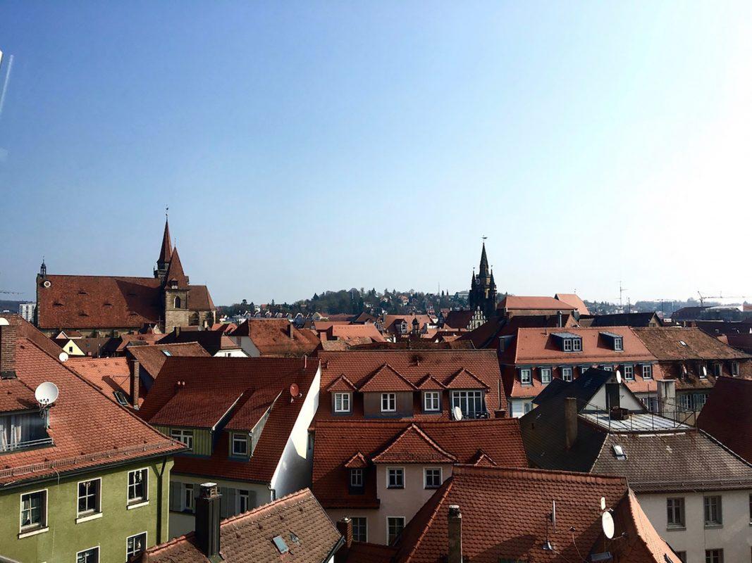 Ansbach Übersicht. Foto: Larissa Noack