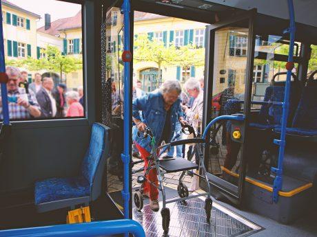 Der Bus als sichere Alternative. Foto: Ansbacher Bäder und Verkehrs GmbH