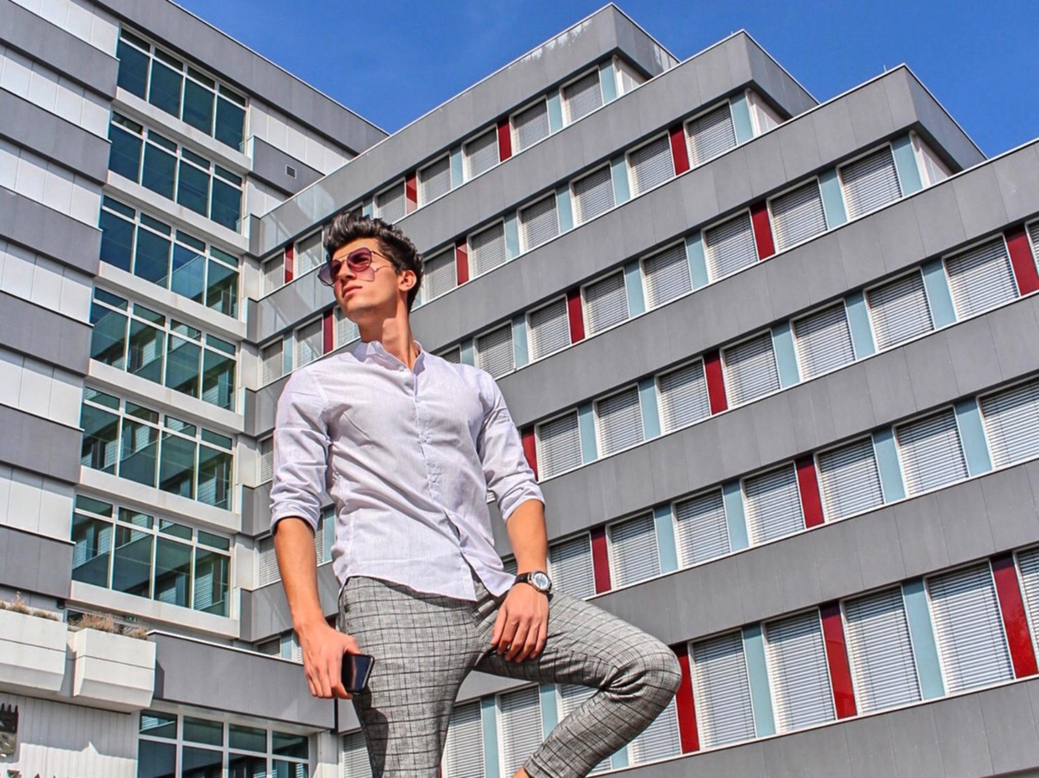 Er studiert in Ansbach. Foto: Houssem Mnejja