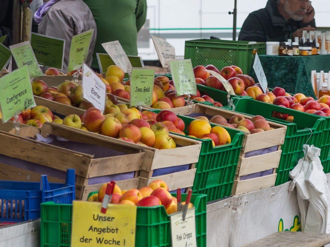Symbolfoto Markt. Foto: Pascal Höfig