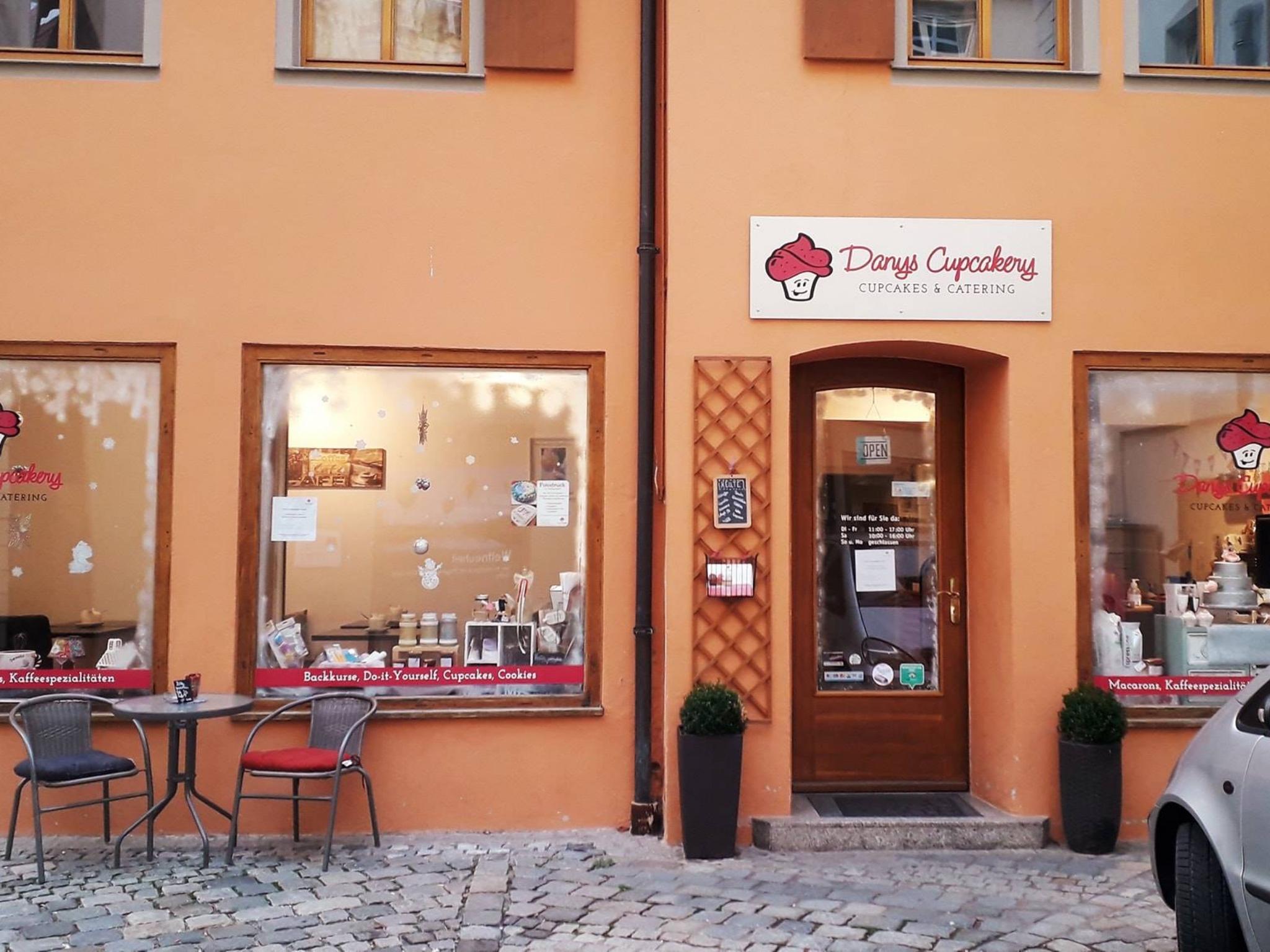 Danys Cupcakery in Ansbach. Foto: Danys Cupcakers
