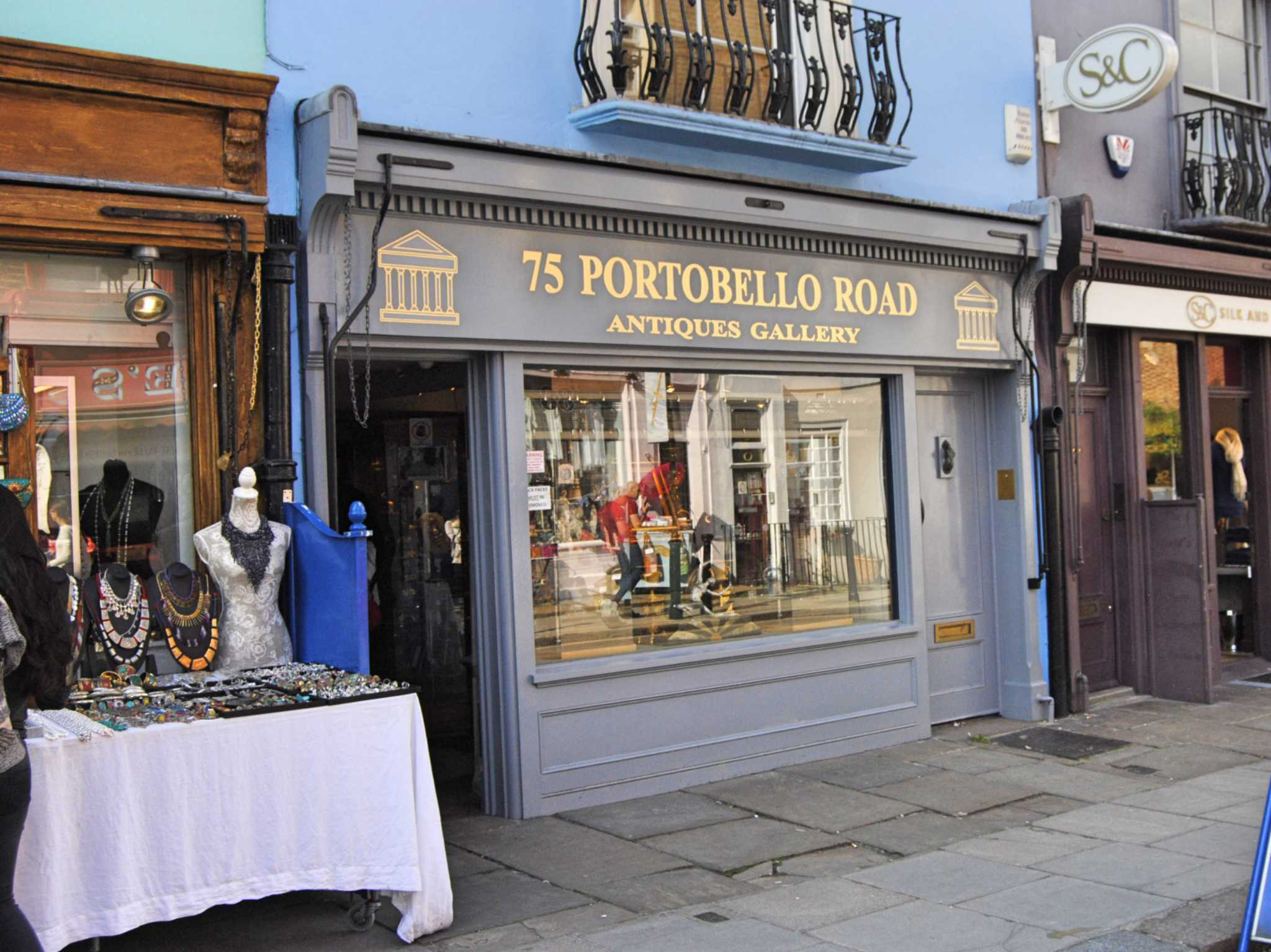 Portobello Road in London. Foto: Nina Härtle
