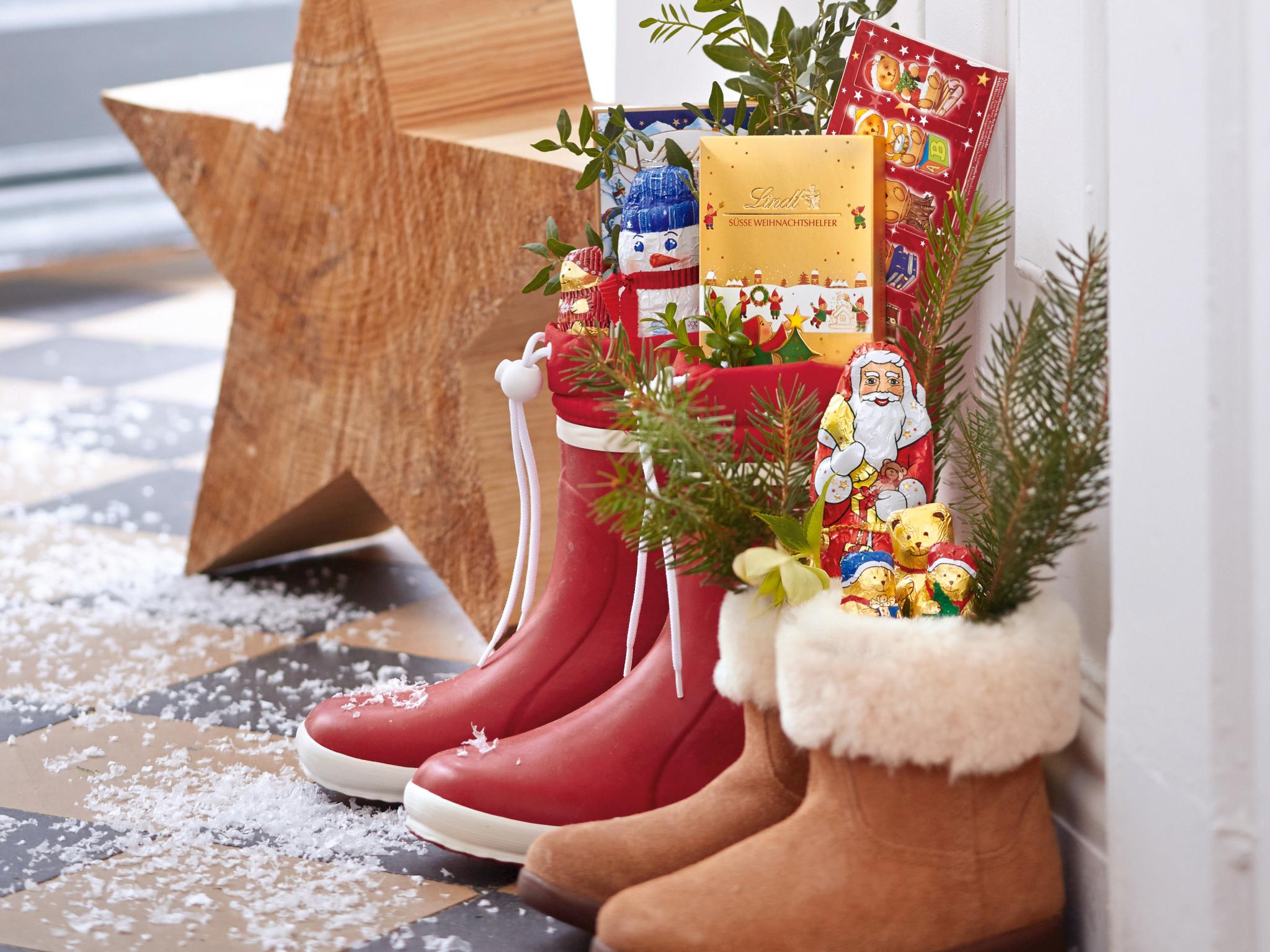 Weihnachtsstimmung mit Schokolade von Lindt. Foto: A6 Fashion Place