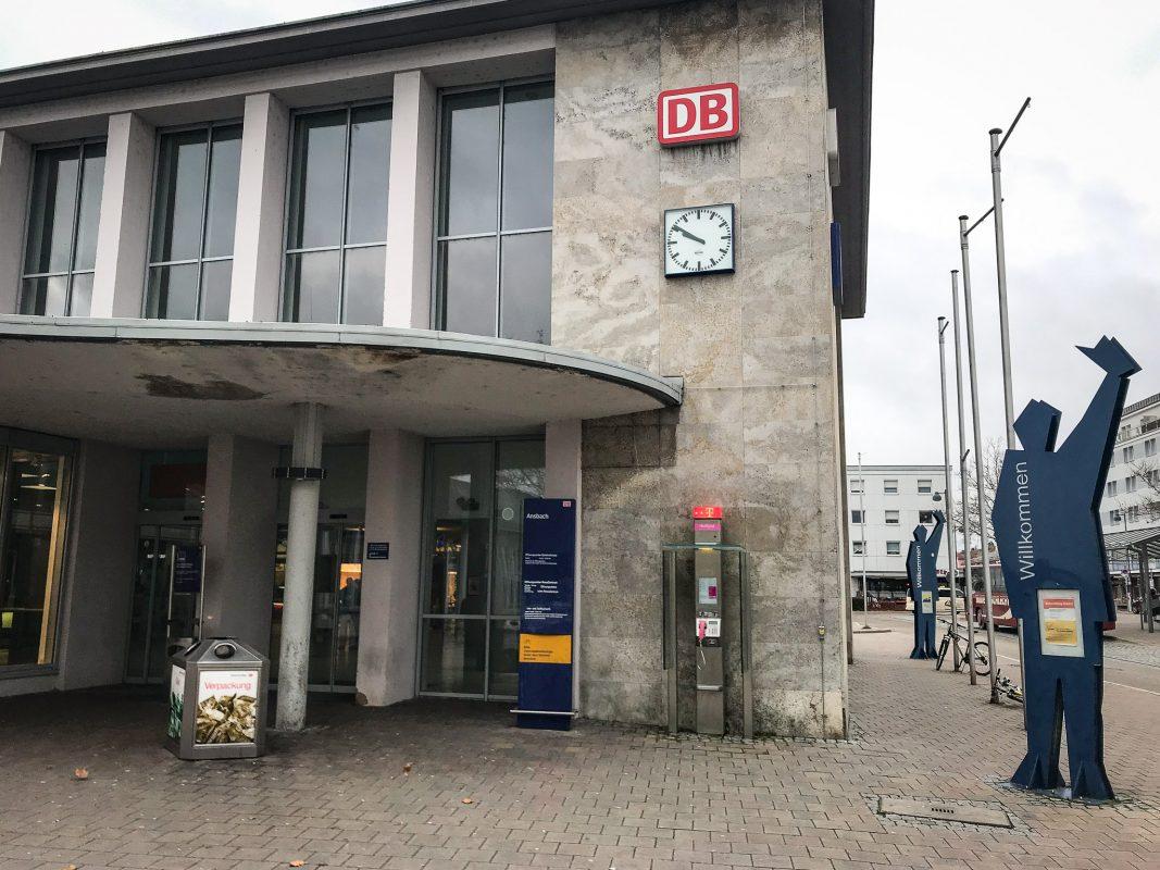 Bahnhof Ansbach. Symbolfoto: Nico Jahnel