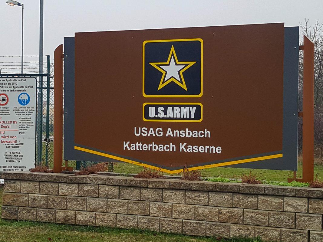 U.S. Army Garrison Ansbach in Katterbach. Foto: Armin Höfig