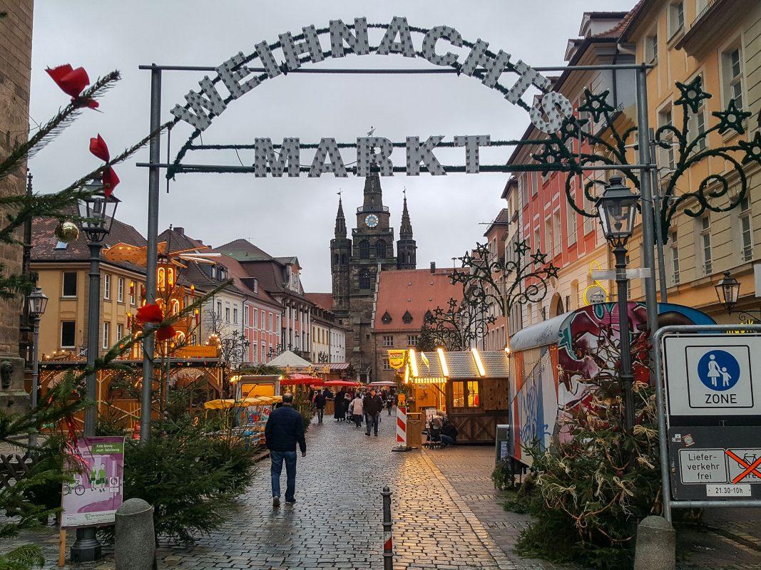 Weihnachtsmarkt in Ansbach. Symbolfoto: Armin Höfig