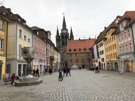 Die Innenstadt von Ansbach. Foto: Manuela Kraus