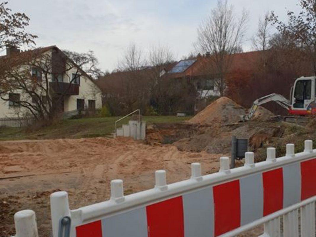 Der Spielplatz an der Bayreuther Straße wird generalsaniert. Foto: Julia Scholz