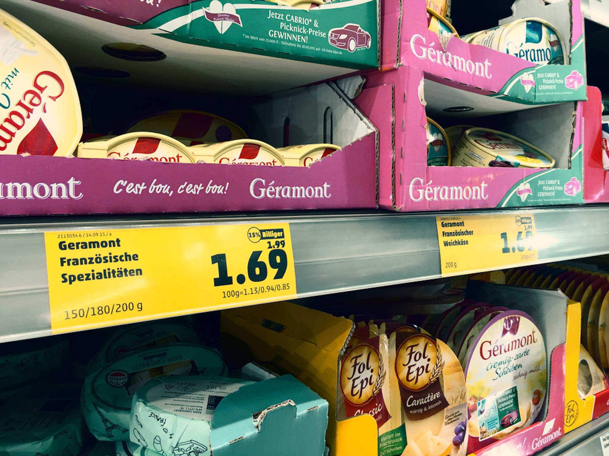 Symbolbild Supermarkt. Foto: Pascal Höfig