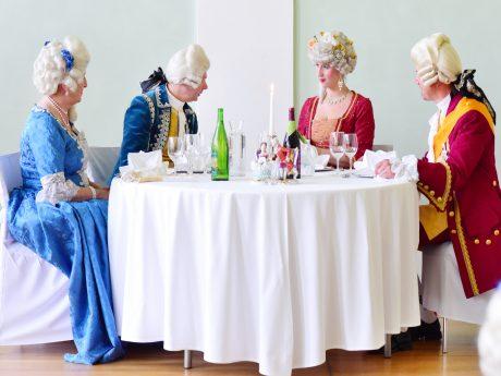 Vom 5. bis 9. Juli 2019 finden wieder die Rokoko-Festspiele in Ansbach statt. Foto: Jim Albright