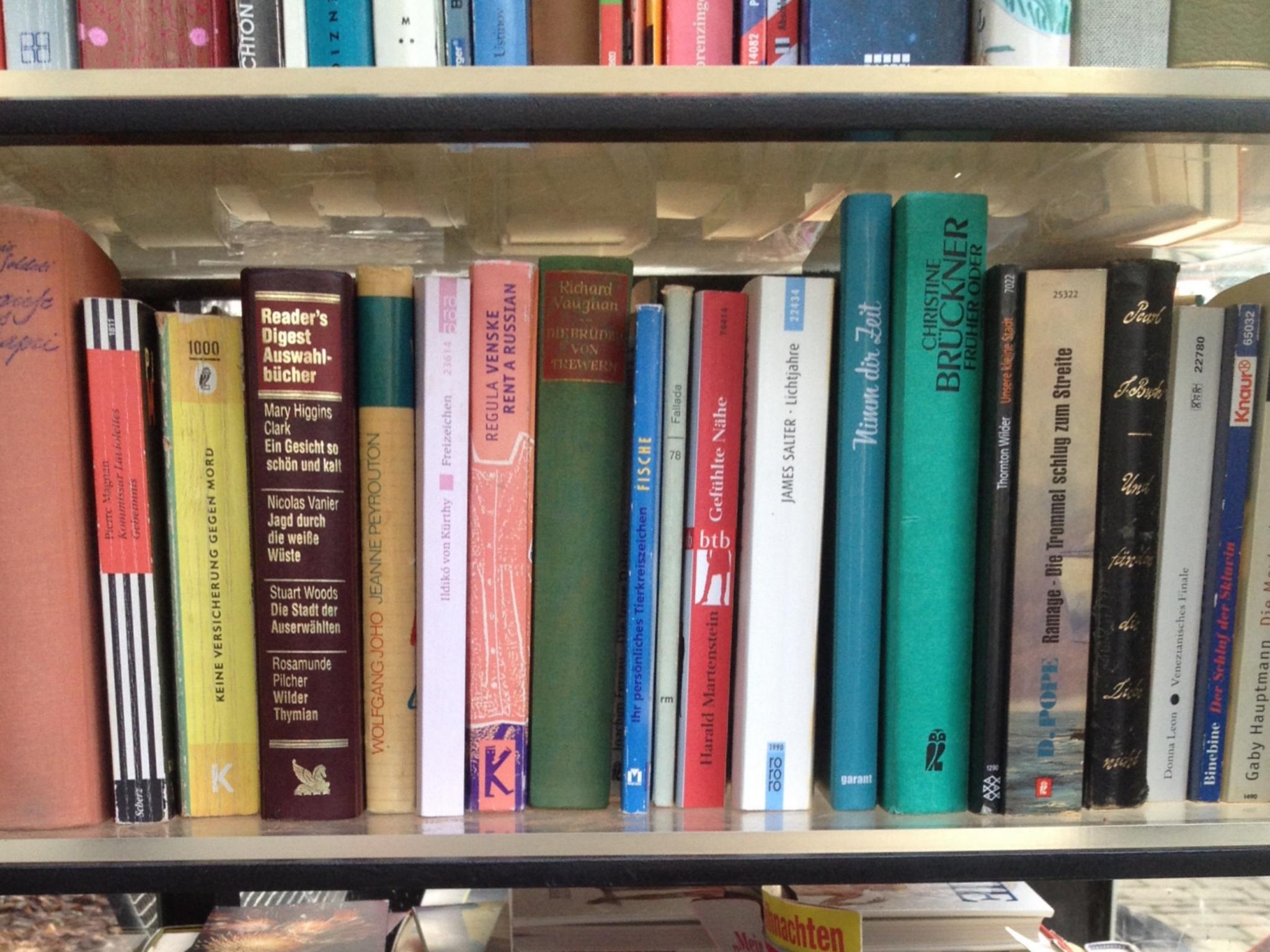 Öffentlicher Bücherschrank in Ansbach