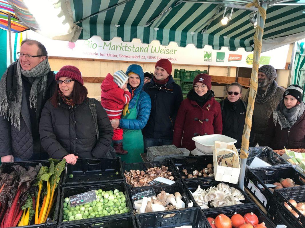 Ansbach Umgedacht feiert zum 3. Geburtstag das erste Nachhaltigkeitsfest in Ansbach mit einem bunten Programm. Auch die Lebensmittel Rettung, die erst vor kurzem den Lebensmittel-Verteiler eingeweiht hat, ist mit einem Infostand vor Ort. Foto: Nico Jahnel