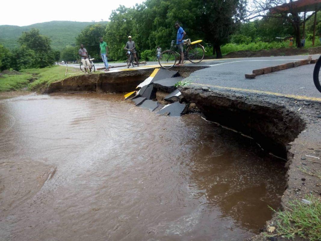 Die Flut in Malawi. Foto: Ansbach für Malawi e.V.