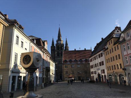 Die Ansbacher Innenstadt. Foto. Nico Jahnel