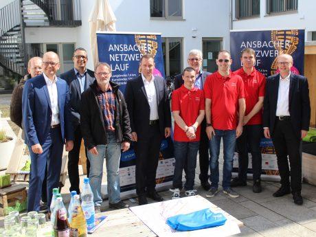Am 3. Juli findet der Ansbacher Netzwerklauf statt. Foto: WochenZeitung Ansbach