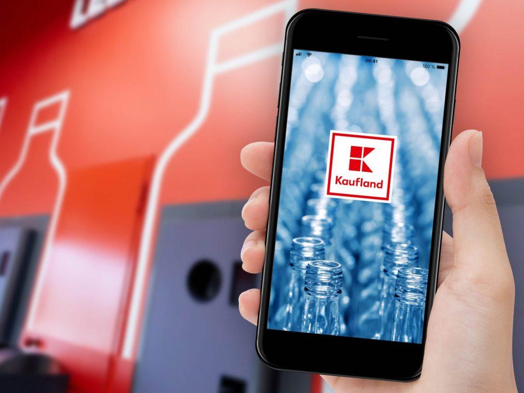 Digitaler Pfandbon bei Kaufland – erstmalig im deutschen Lebensmitteleinzelhandel. Foto: © Kaufland.