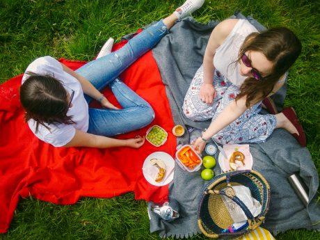 Picknick. Symbolfoto: Dominik Ziegler