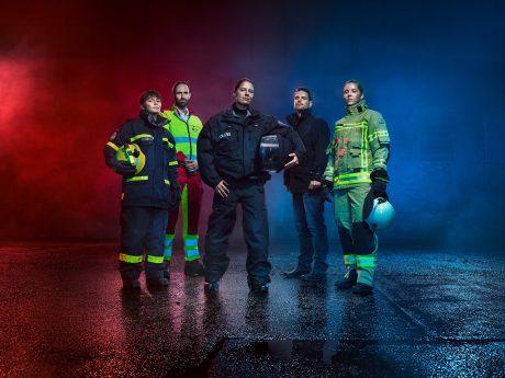 Die neue Kampagne für Polizei & Rettungskräfte ist gestartet. Foto: BMI