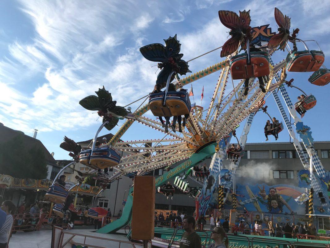 Das Frühlingsfest in Ansbach. Foto: Nico Jahnel