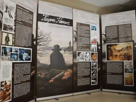 Die Entwicklung des Comics über Kaspar Hauser; Foto: Bart Proost