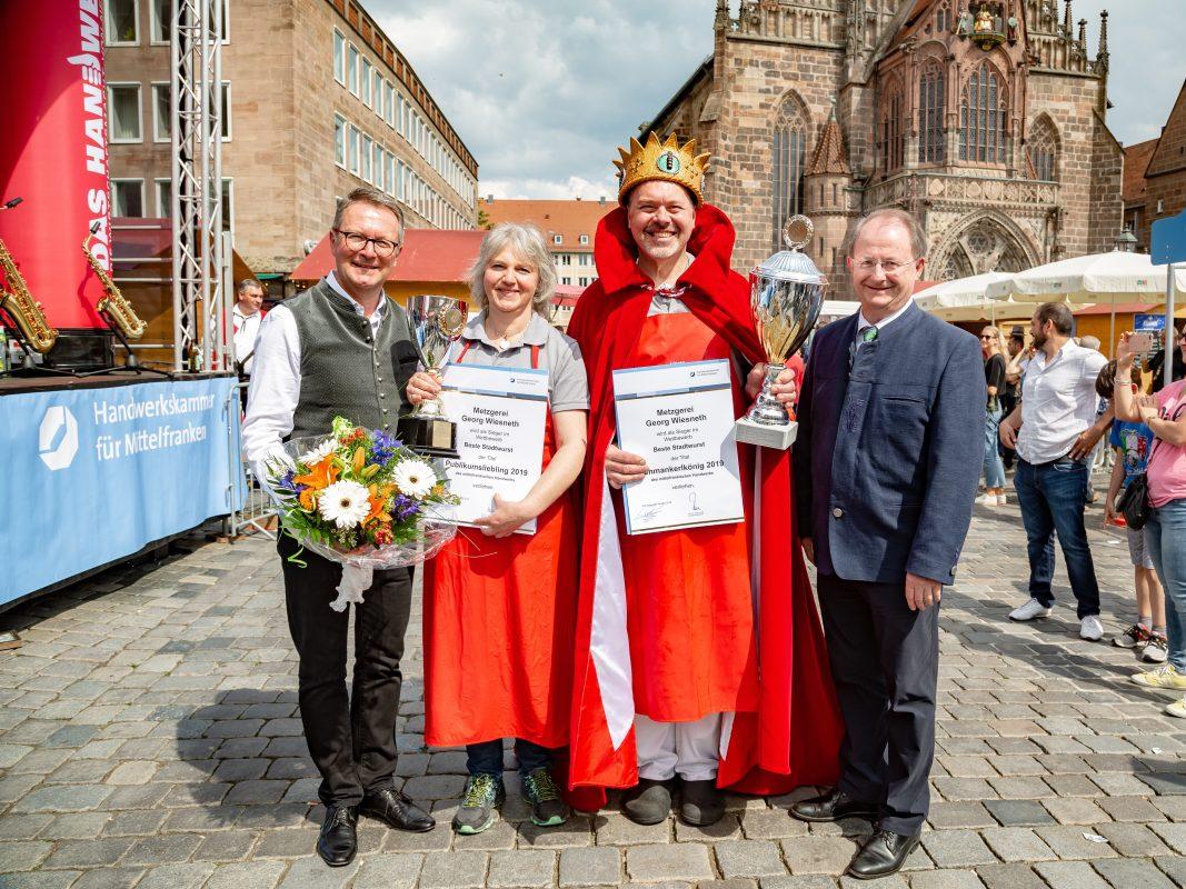 Mit der Hausmacher Stadtwurst und ihrem Stadtwurst-Papaya-Curry gewannen Georg und Carola Wiesneth gleich doppelt. Foto: milaliams