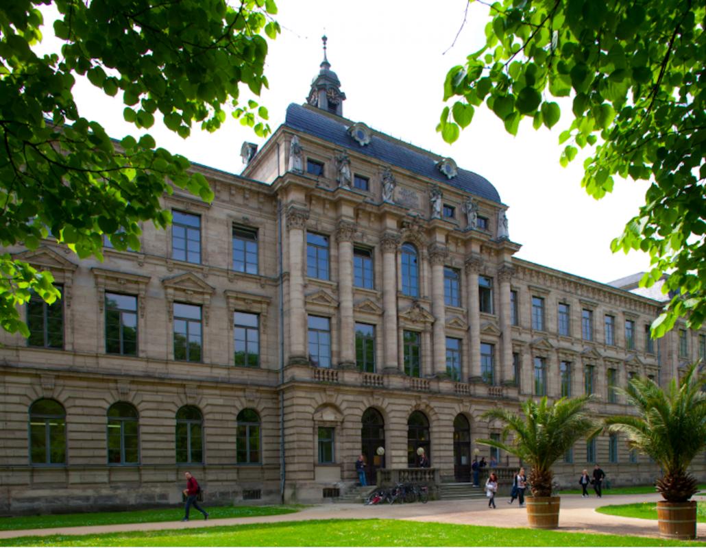 Kollegienhaus (Blick aus dem Schlossgarten). Foto: FAU/Erich Malter