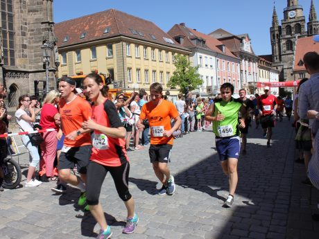 City Lauf 2018. Foto: WochenZeitung Ansbach