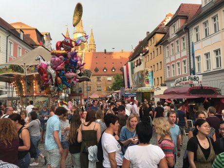 Das Altstadtfest 2019 in Ansbach. Foto: Nico Jahnel