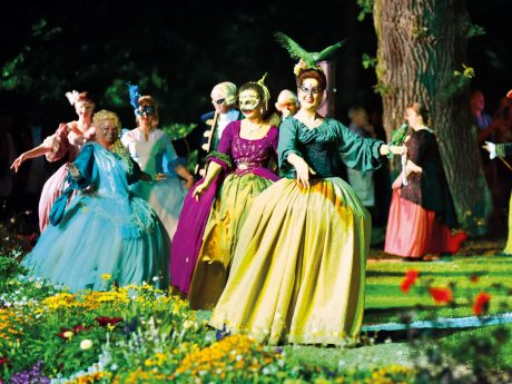 Die Rokoko-Festspiele in Ansbach. Foto: Stadt Ansbach