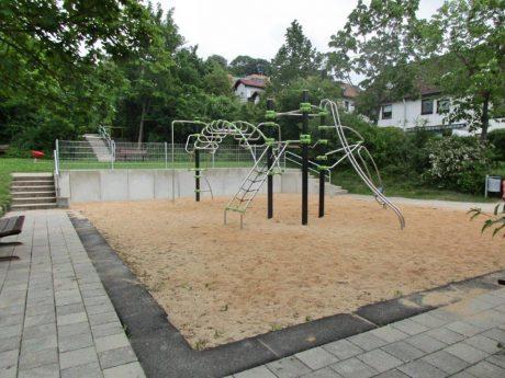 Spielplatz Bayreuther Straße. Foto:Stadt Ansbach