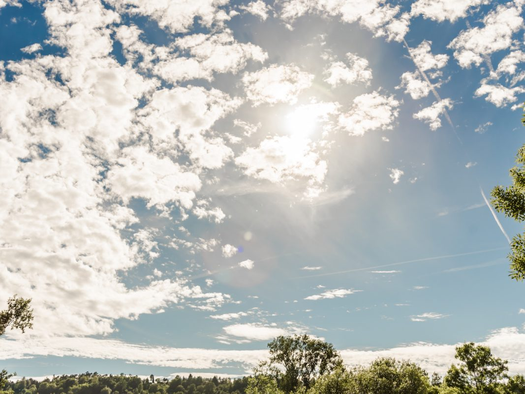 Sommerwetter. Symbolfoto: Pascal Höfig