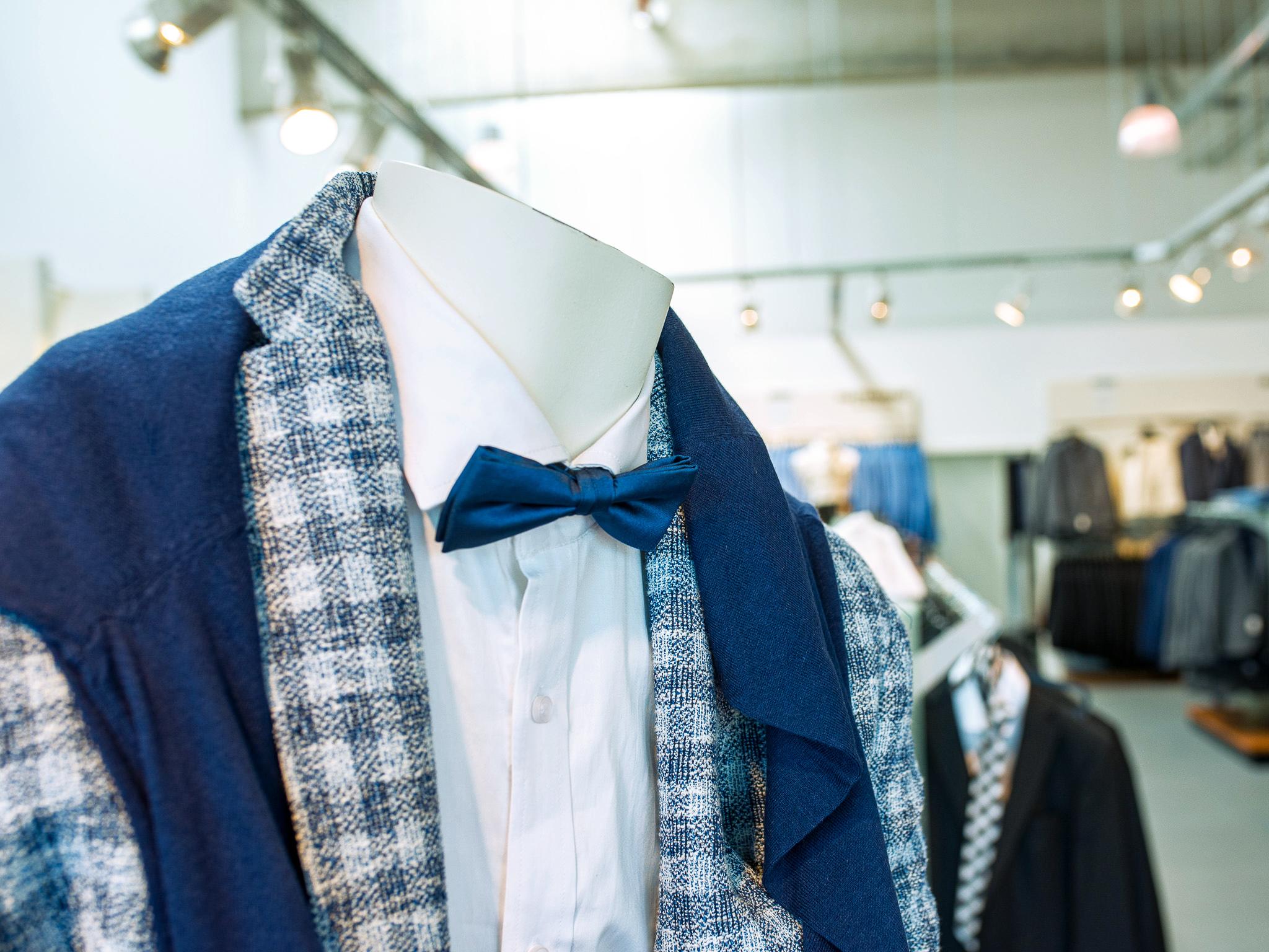 Auch die Männer werden im A6 Fashion Place fündig. Foto: Pascal Höfig