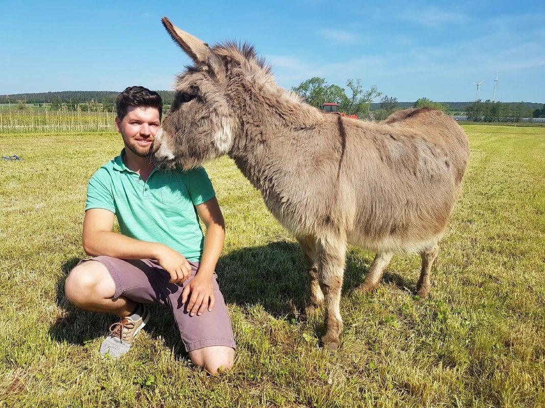 Michael (30) aus Bayern sucht bei Bauer sucht Frau die Liebe. Foto: TV Now
