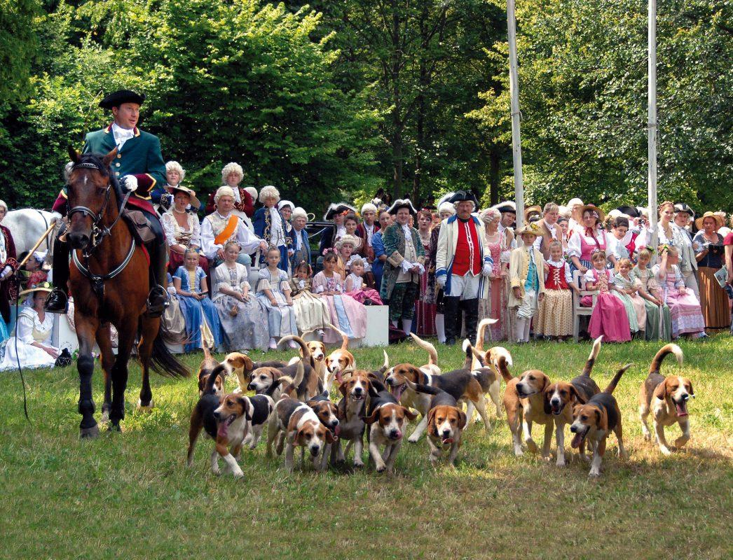 Die Fürstliche Gartenlust bei den Rokoko-Festspielen. Foto: Stadt Ansbach