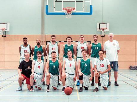 Mannschaftsfoto des TSV Ansbach 2. Foto: millerarts