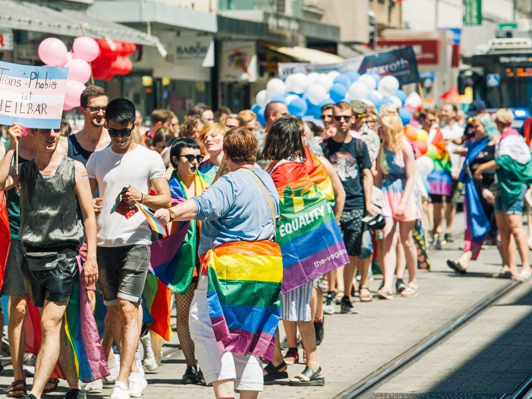 Symbolfoto Christopher Street Day Parade. Foto: Pascal Höfig