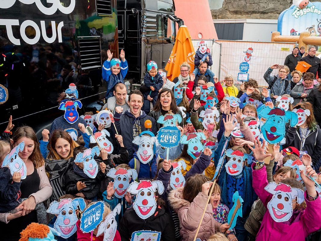 Super RTL, Toggo Tour, Stadtwette