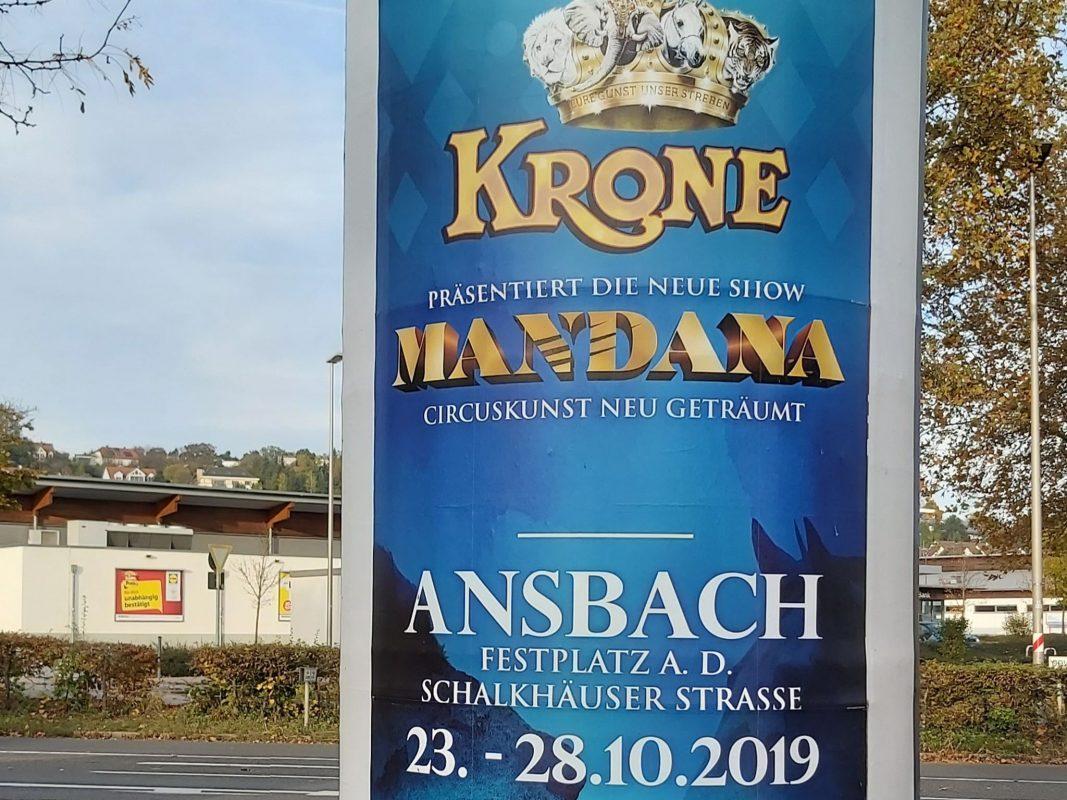 Plakat Circus Krone