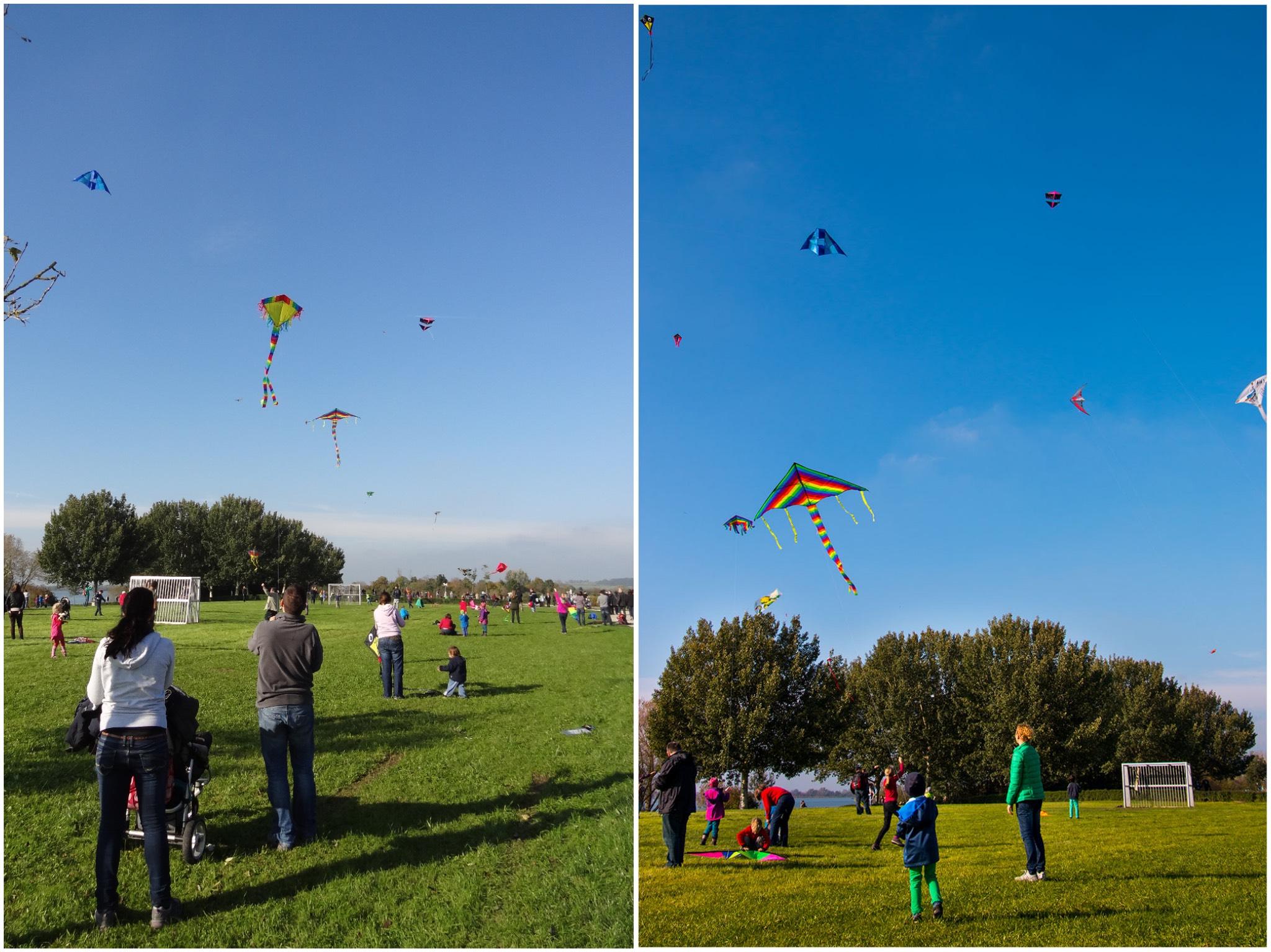 Die Drachen dürfen laut Genehmigung bis zu 500 Meter in die Lüfte steigen. Foto: Zweckverband Altmühlsee