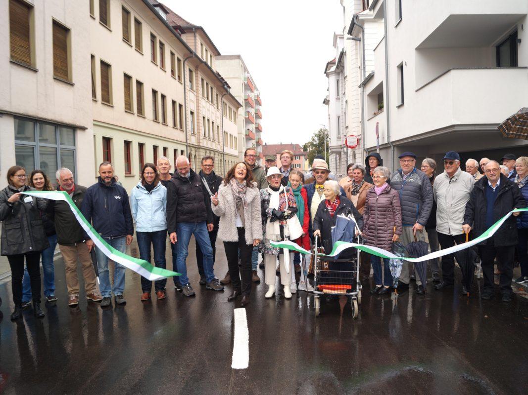 Eröffnung der Merckstraße. Foto: Stadt Ansbach